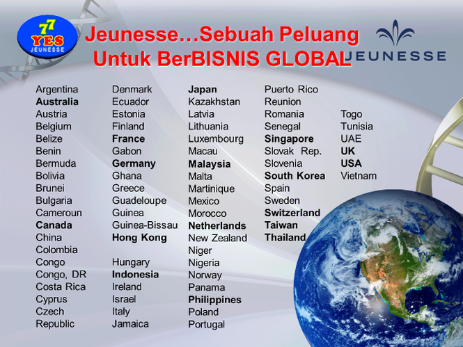 Jeunesse Global all over the world